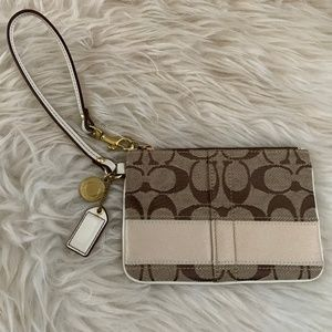 Authentic Coach Clutch Cream